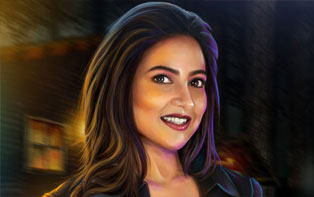 Subhashree, the crime investigator